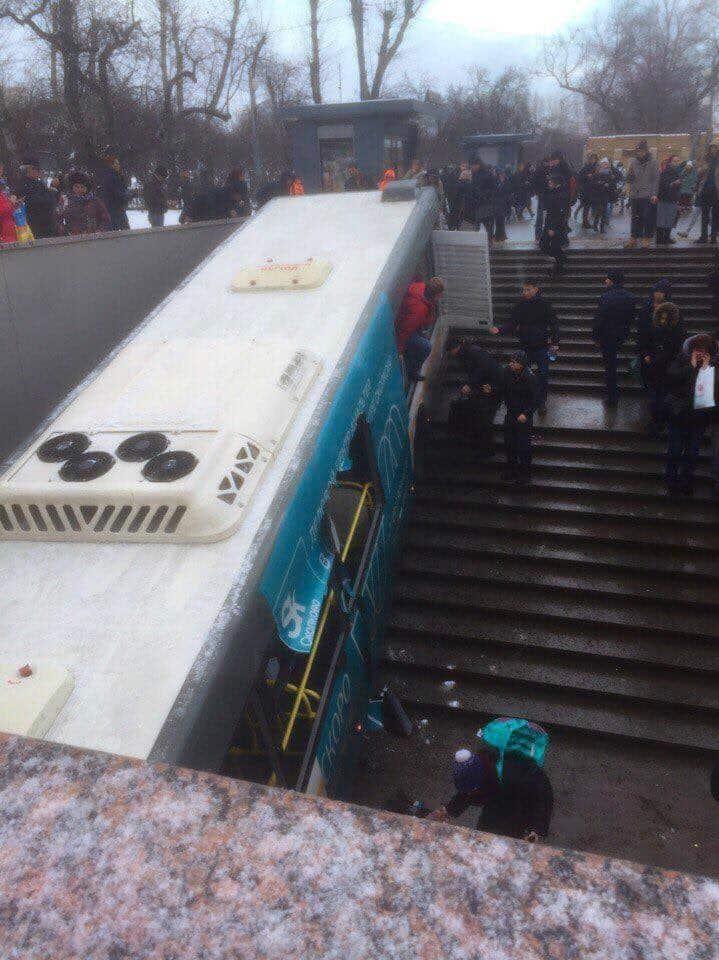 Autobús en Moscú atropella a varios traseúntes y deja al menos cinco muertos