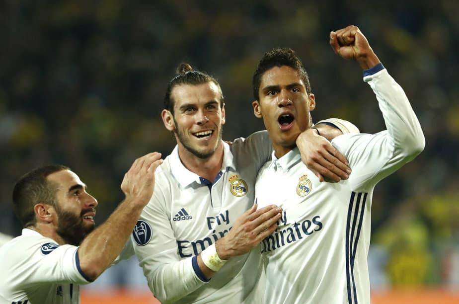 Bale y Varane irán al Mundial de Clubes
