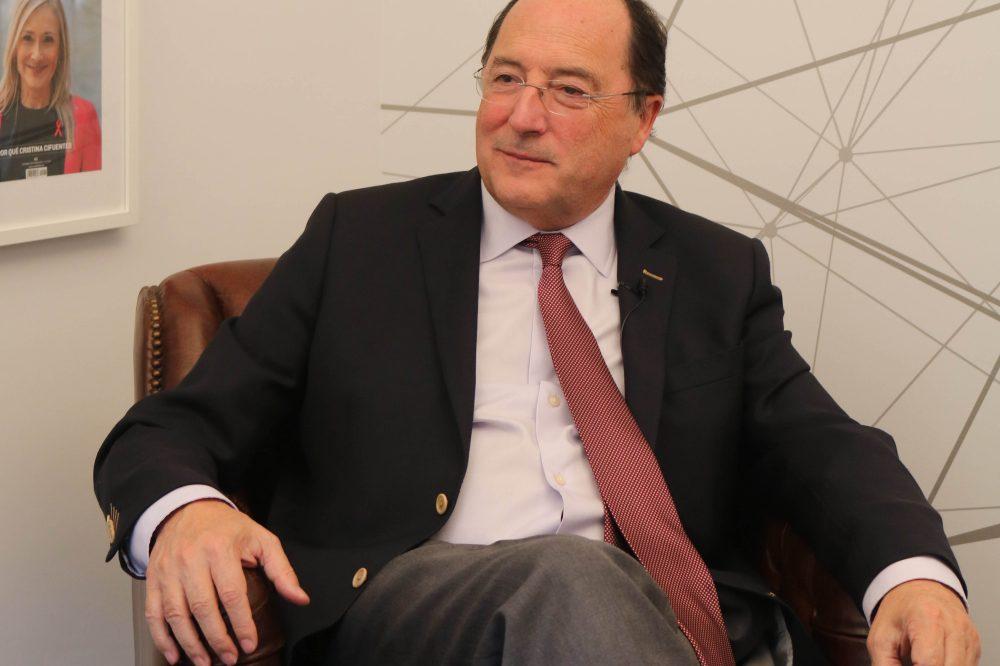 Carlos Moro, fundador de Matarromera.