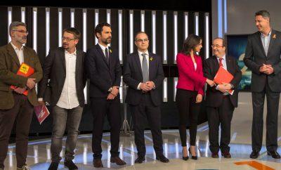 Las encuestas auguran un escenario complicado en Cataluña.