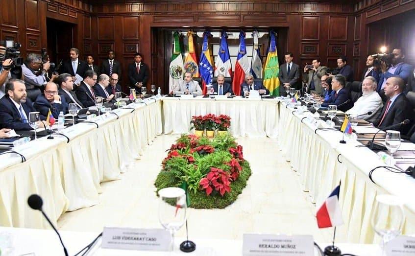 Diálogo Gobierno  Oposición de Venezuela en República Dominicana