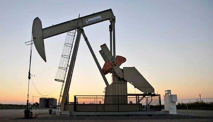 Extracción de petróleo en EEUU.