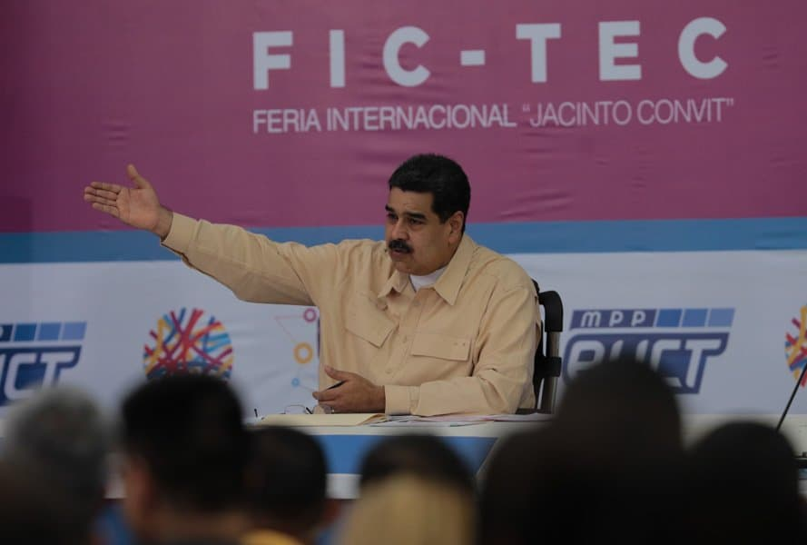 Nicolás Maduro anunció la creación de El Petro, una criptomoneda de Venezuela