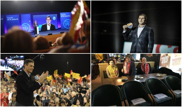 Elecciones catalanas: Partidos juegan orden cerrado de cara a los pactos