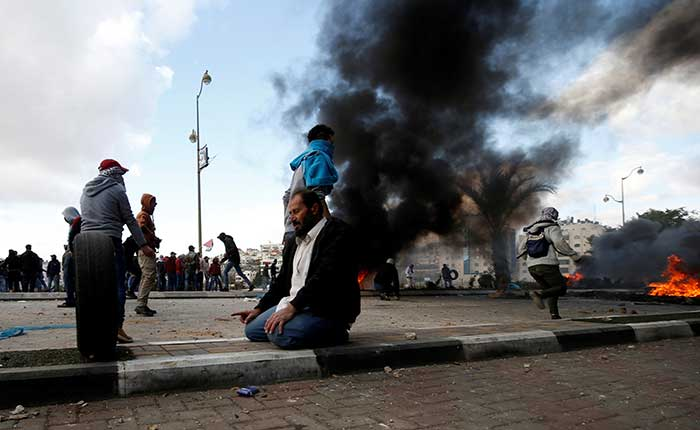 Los enfrentamientos entre palestinos e israelíes se han intensificado en las últimas 24 horas