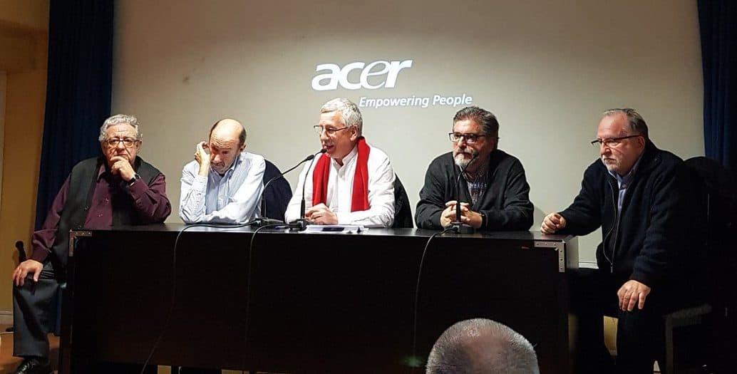 Presentación del documental sobre el final de ETA en Madrid.
