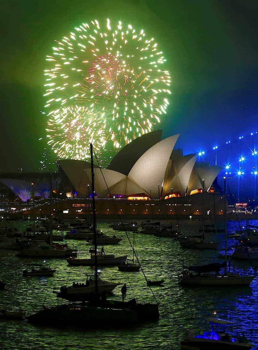 Feliz Año Nuevo 2018: Así reciben el año en todo el mundo
