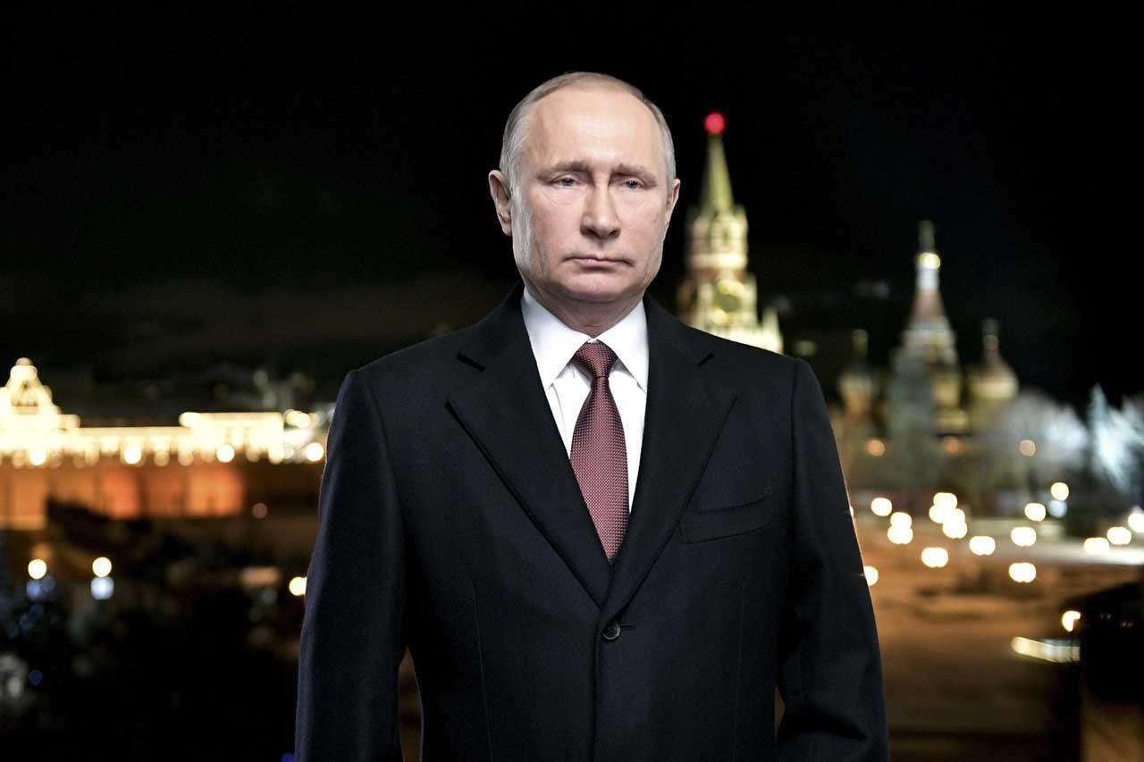 En Rusia han recibido el nuevo año 2018, encabezado por una salutación de Año Nuevo de Vladimir Putin. REUTERS