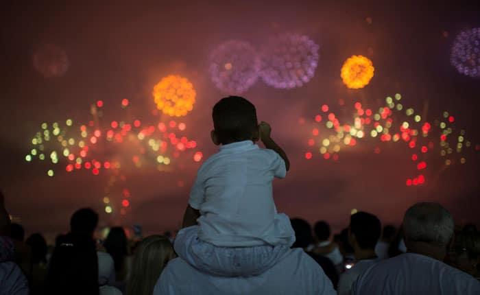 Feliz Año Nuevo 2018: Así llegó el nuevo año en todo el mundo