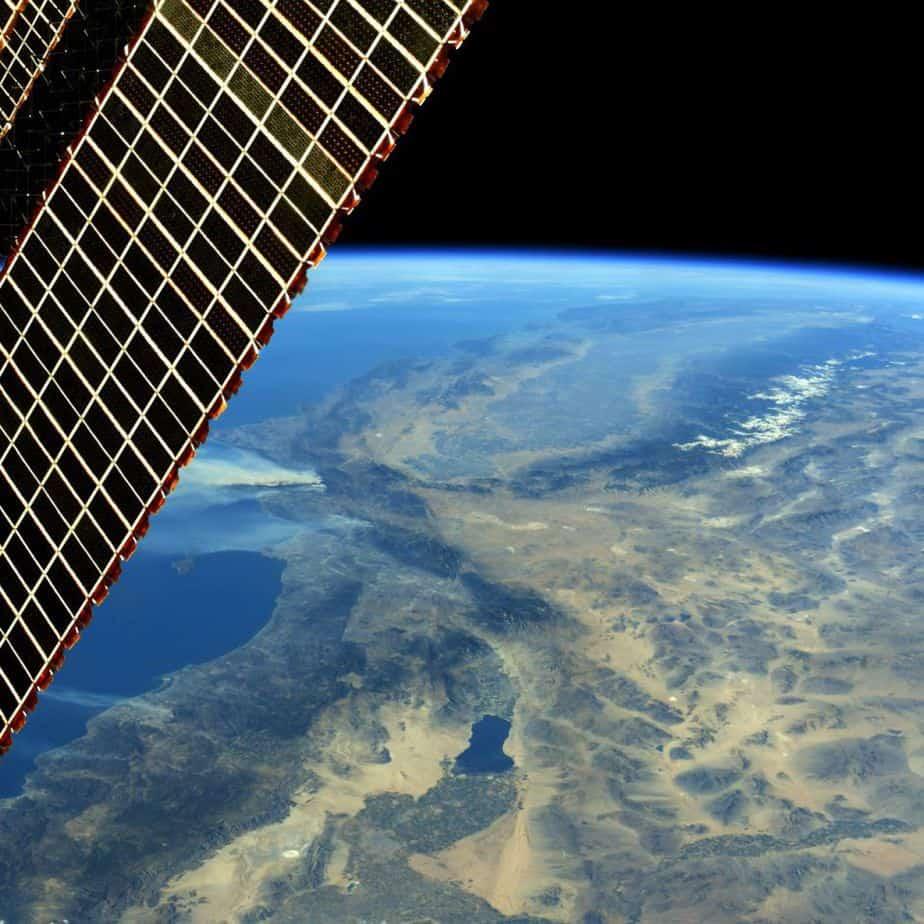 Incendios en California, vistos desde el espacio