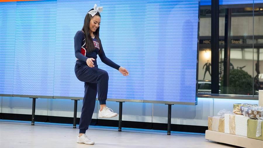 "El Invisible Box Dance Move ha hecho famosa a Ariel Olivar, su ""creadora"""