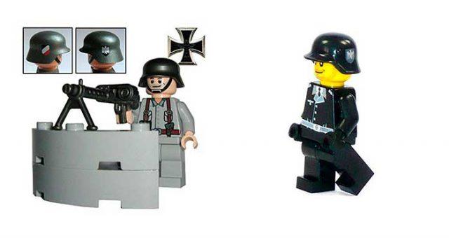 figuras de lego nazis han encendido la polémica en Alemania.