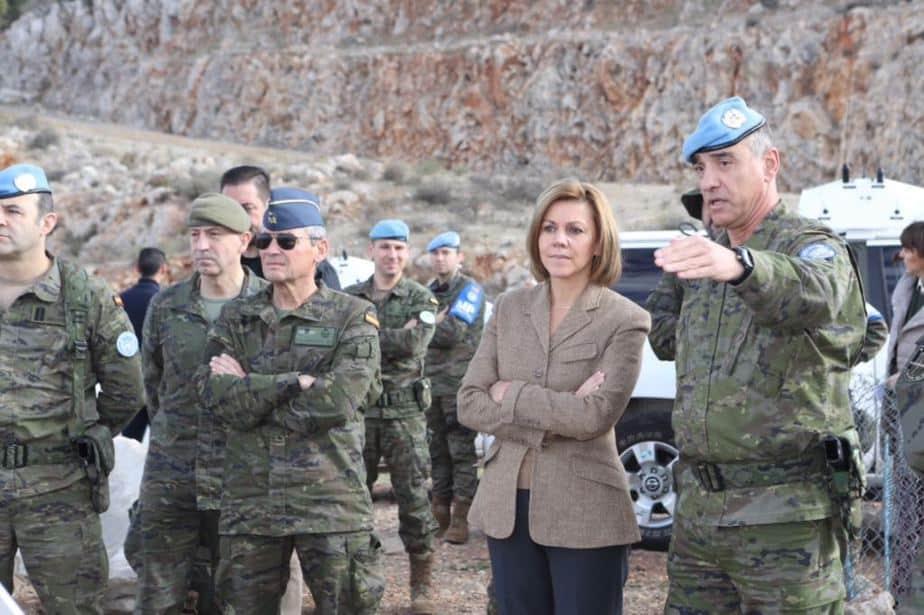 Militares españoles en Oriente Medio