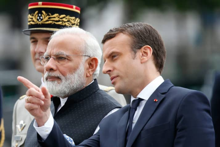 La lucha contra el cambio climático en 2017 ha tenido en Narendra Modi y Emmanuel macron dos de sus mayores líderes