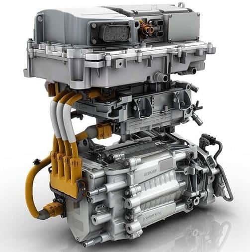 El motor de un coche eléctrico reina en la movilidad eléctrica