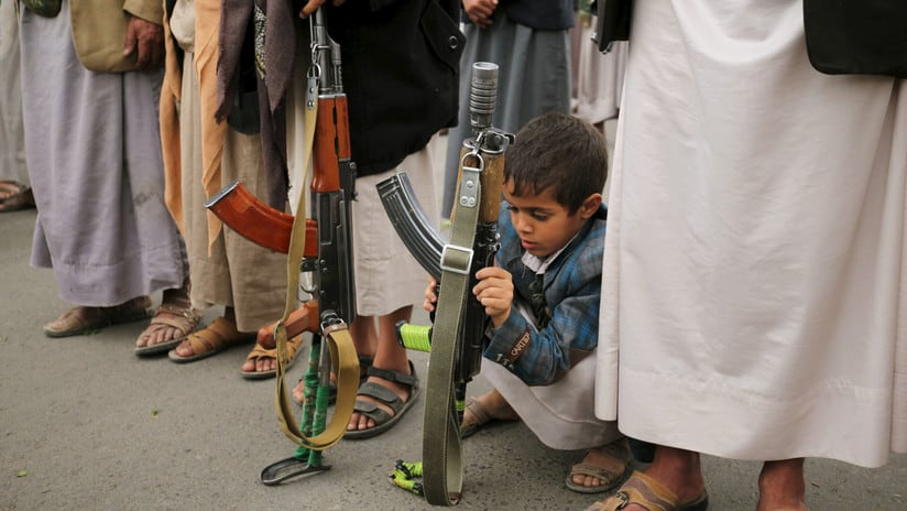 Los niños soldados son una realidad cada vez más creciente