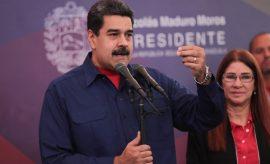 Nicolás Maduro dice que apoya el impedir la participación de los partidos opositores
