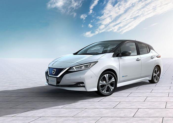 Nissan LEAF.