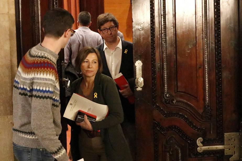 Los partidos independentistas en Cataluña comienzan a negociar