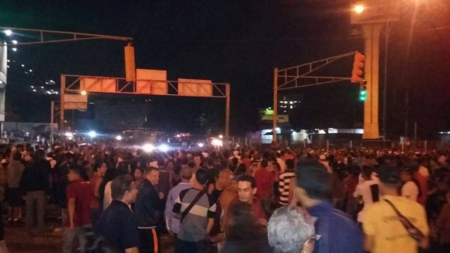 Protestas por escasez en Venezuela hacen su antesala al Año Nuevo