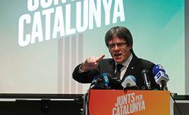Carles Puigdemont declara a pocas horas del inicio oficial del lapso de campaña en Cataluña
