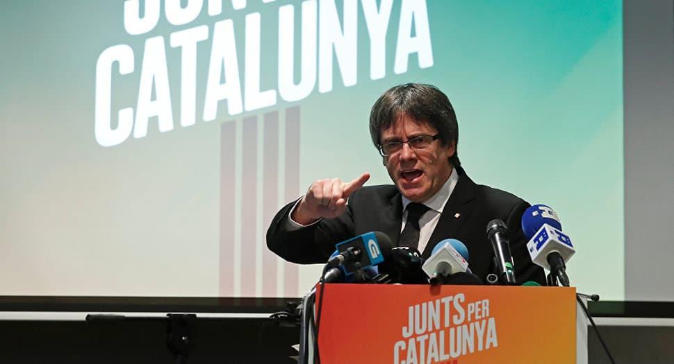 Carles Puigdemont puede ser detenido si sale de Bruselas