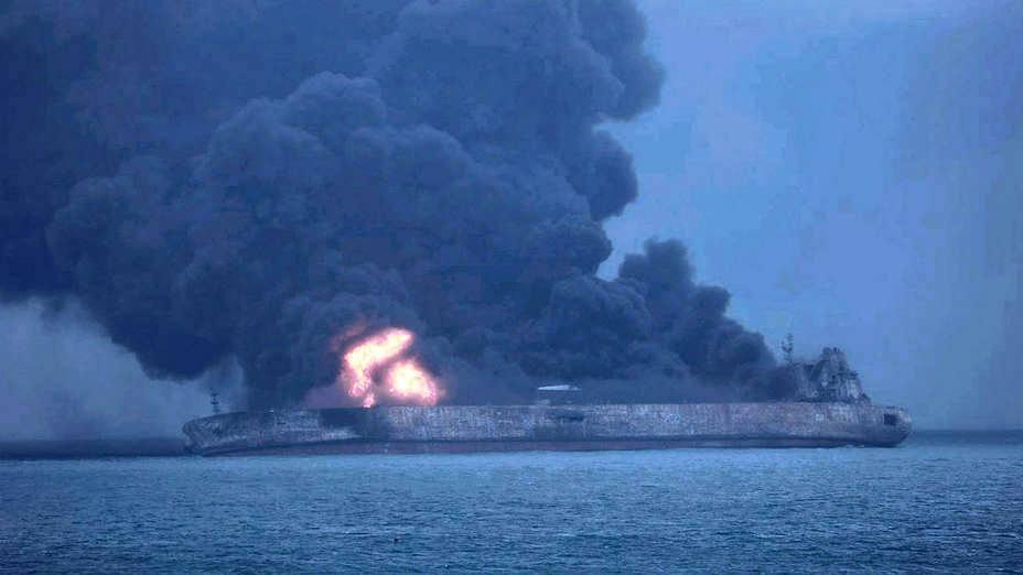Autoridades alertan sobre estallido de buque petrolero
