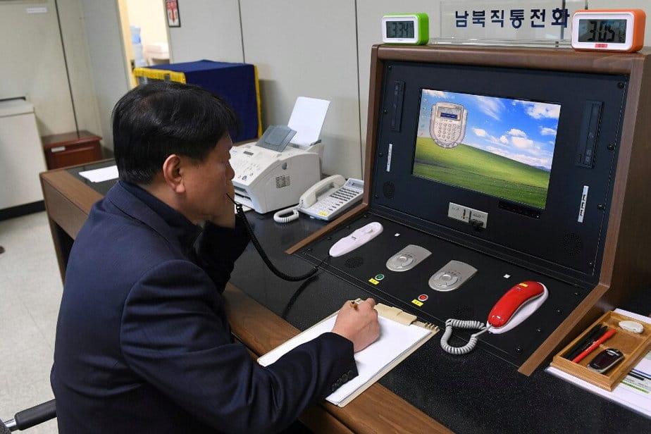 Comunicación intercoreana. Corea del Norte reabrirá la línea telefónica con Corea del Sur