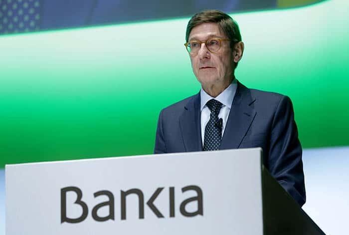 Resultados de Bankia. Gana 816 millones, aunque cae el beneficio por BMN