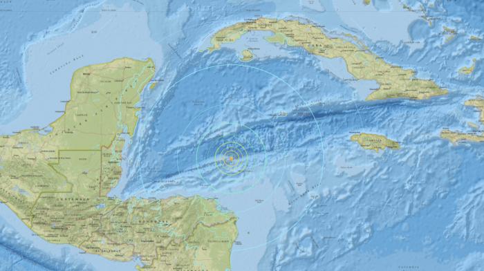 Localización del terremoto que ha provocado la alerta de tsunami.