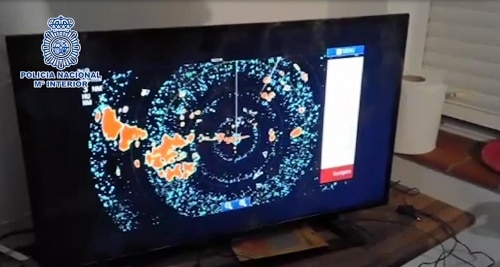 Sistema de radares. Desmantelado en Cádiz un sistema de radares usado por narcos