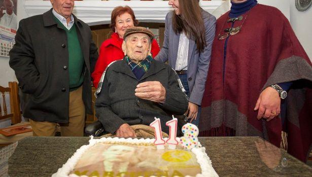 Muere el hombre más anciano del mundo, el español Francisco Núñez