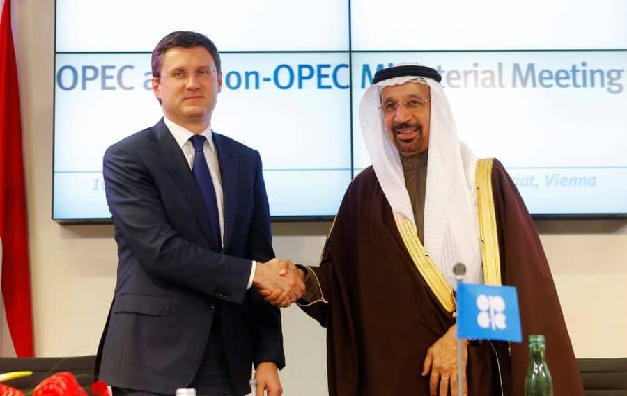 Relación Arabia Saudí y Rusia. La OPEP y Rusia controlan las restricciones de producción