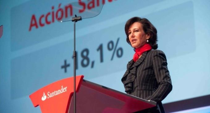 Beneficio de Banco Santander. Gana menos de lo esperado por la integración del Banco Popular