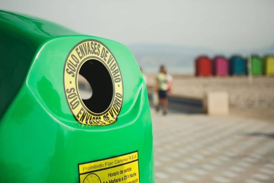 Tasa de reciclaje de vidrio. Cuántos envases de vidrio es capaz de reciclar cada español