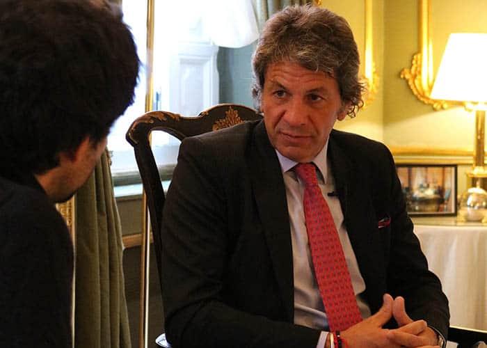 Juan Pazo, superintendente de Seguros de la Nación de Argentina