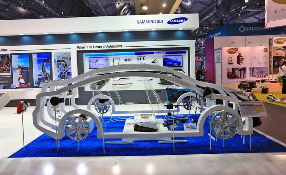 Samsung integra la carga rápida a sus coches eléctricos