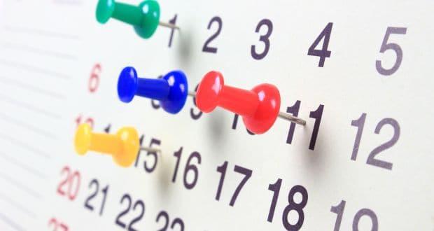 Calendario 2018 de días laborables y festividades de España