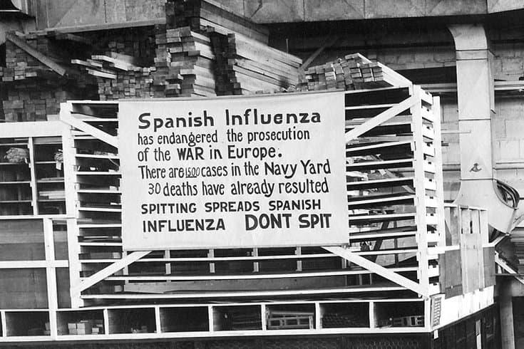 Causas de la gripe española