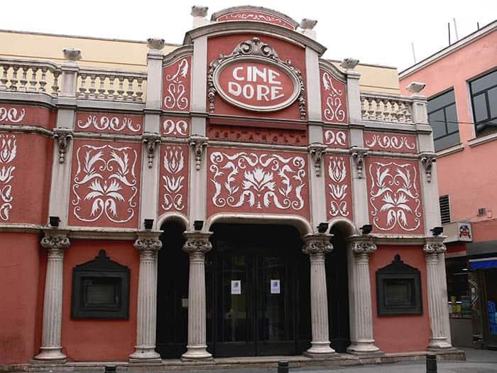 Cine Doré de Madrid, sede de la Filmoteca Española.