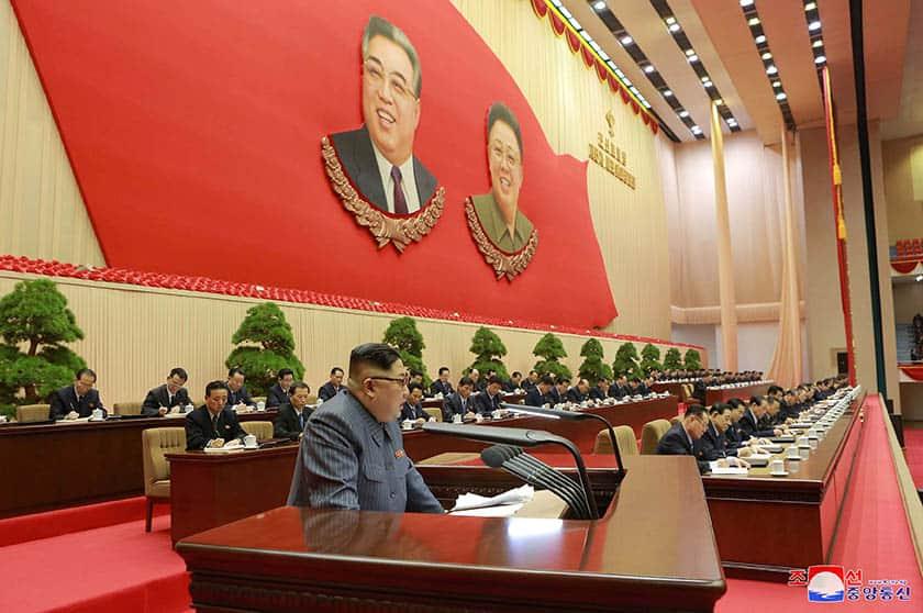 Kim Jong Un, máximo líder de Corea del Norte.