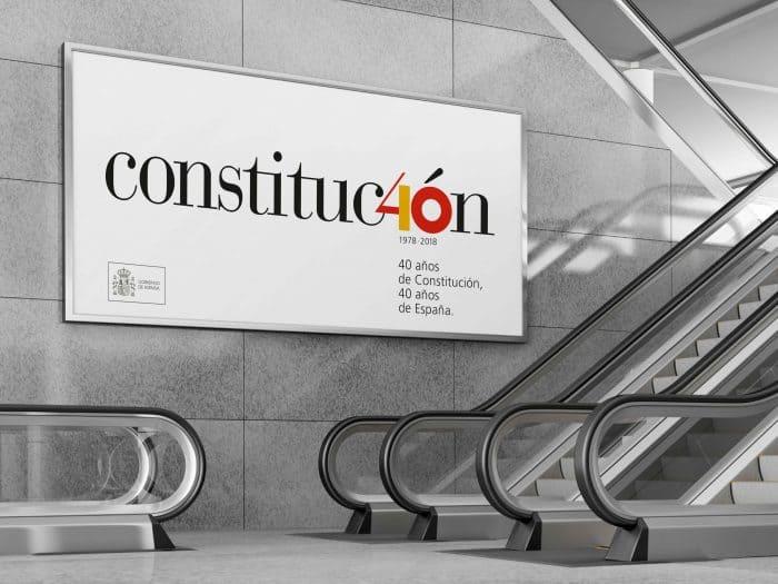 Nueva imagen de las Cortes por el aniversario de la Constitución.
