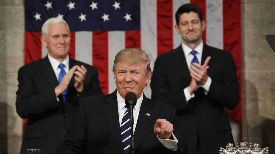 Donald Trump dará su primer discurso del Estado de la Unión el 30 de enero