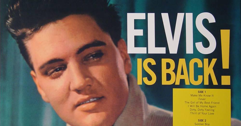 Elvis Presley, Elvis is Back
