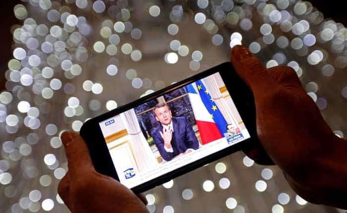 Mensaje de Año Nuevo de Emmanuel Macron