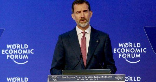 Ésta es la agenda de Felipe VI en Davos