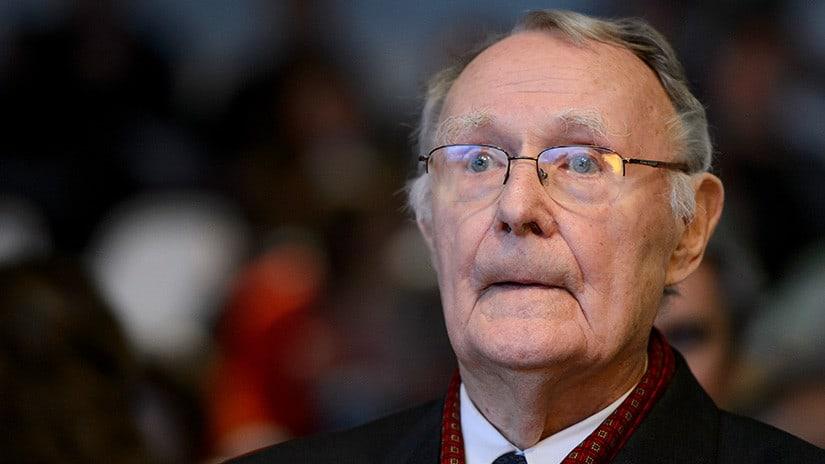 Fundador de Ikea, Ingvar Kamprad, ha fallecido en su casa