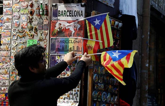 El gasto turístico desciende en Cataluña.