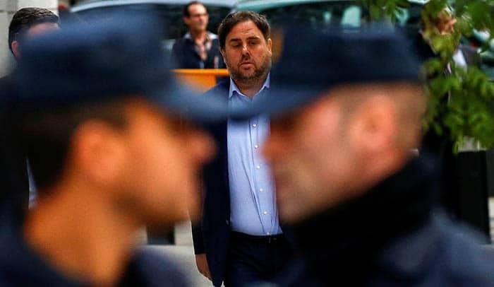 Interior lleva a Cataluña a Junqueras y a otros presos independentistas
