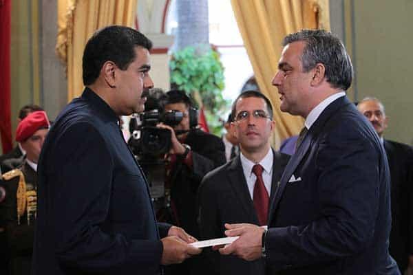 Venezuela declara la expulsión del embajador español en Caracas